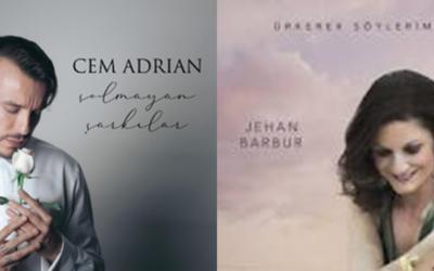 2 Yeni Albüm Jehan Barbur Ürkerek Söylerim Cem Adrian Solmayan Şarkılar